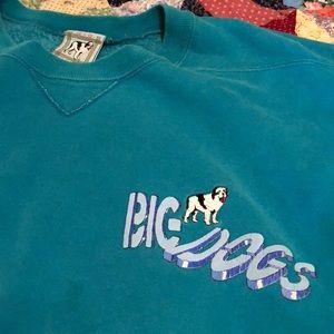 "80's ""Big Dogs"" team sweatshirt"